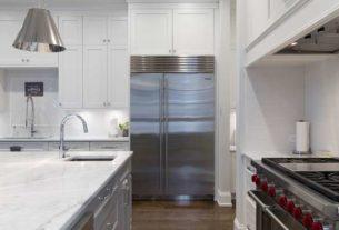 Czarna lodówka - elegancja w kuchni